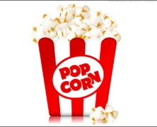 Zupa z popcornem