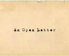 Dziennikarzy list otwarty