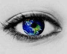 Cały świat zamykam w sercu