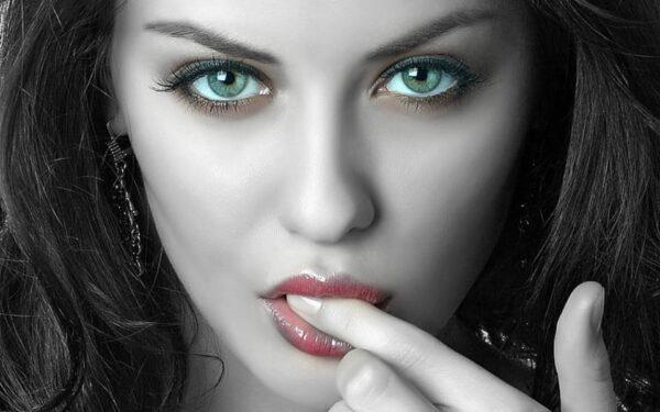 Mężczyźni kochają zmysłowe oczy