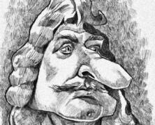 Moliera żałosna karykatura