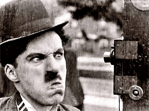 Dramatycznie żenujący Chaplin Rubina